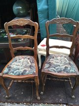 2 nice antique wood chairs from France in Ramstein, Germany