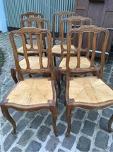 6 very nice antique wood chairs French Cottage Style in Ramstein, Germany