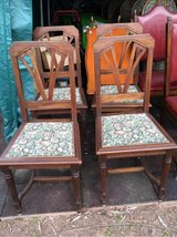4 very nice antique french wood chairs in Ramstein, Germany