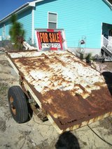 FLATBED TRAILER  4 FOOT WIDE  X  6 FOOT LONG in Wilmington, North Carolina