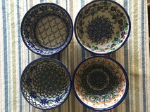 8 Polish Pottery Bowls in Bolling AFB, DC