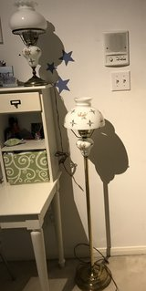 Hurricane Floor Lamp with matching Desk Lamp in Baytown, Texas