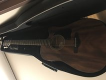 Brand new  ibanez guitar with case, built in tuner + additional tuner , capo , picks, and strap in Fort Irwin, California