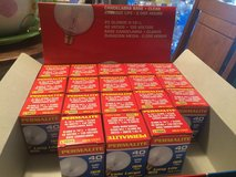 Permalite 40w Clear Globe Light Bulbs - Candelabra Base - set of 18 in Brookfield, Wisconsin