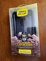 NEW~ IPHONE 6 PLUS/6s PLUS OTTER BOX ~ DEFENDER SERIES  w/BELT CLIP ~ NEW in Yucca Valley, California