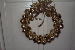 GOLD HOLIDAY WREATH in Camp Lejeune, North Carolina