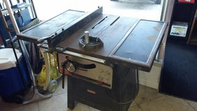 table saw. Craftsman in 29 Palms, California