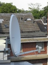 TV Antenna with Lnb (2 devices) and cables. REDUCED!!! in Ramstein, Germany
