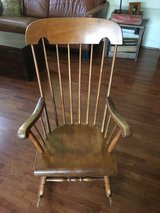 Antique rocking chair in Conroe, Texas
