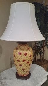 Lamp - yellow ginger jar base in Orland Park, Illinois