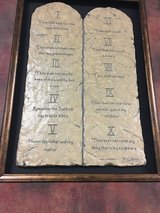 The Ten Commandments picture frame in Cleveland, Texas