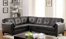 Black Sectional Sofa  $499 in Los Angeles, California