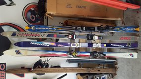 Rossignol 770 and K2 skis in Oswego, Illinois