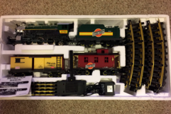 NEW BRIGHT - THE ELECTRIC TRAIN - ELECTRIC BIG SCALE SET - NO. 375 in Tinley Park, Illinois