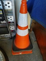 construction cones in Travis AFB, California