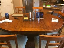 Ashley Counter Height Dining Table with 6 Chairs in Fort Carson, Colorado