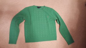 Ralph Lauren Green Lime Cable Wool Sweater in St. Charles, Illinois