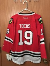 Blackhawks Toews Jersey (NWT) in Peoria, Illinois