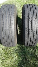 TIRES, Michelin Latitude Tour All Season Mud & Snow.  Two Available in Vacaville, California