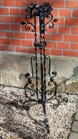 Iron plant stand in Wiesbaden, GE