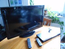 PANASONIC LED TV W/BLURAY PLAYER in Ramstein, Germany