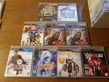 PS3 GAMES  Region 1 in Ramstein, Germany