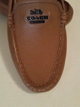 """New """" Authentic Coach"""" Leather Camel Flat Loafers in Fort Benning, Georgia"""
