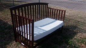 Toddler bed and mattress in Fort Riley, Kansas
