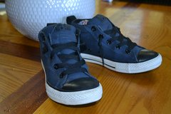 LIKE NEW!! CONVERSE ALL STAR SNEAKERS SHOES in Camp Lejeune, North Carolina