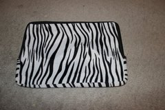 ***REDUCED***Zebra Striped Zippered Laptop Sleeve*** in Kingwood, Texas