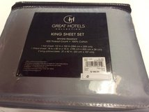 ***REDUCED***BRAND NEW***Great Hotels Collection King Size Sheet Set*** in Kingwood, Texas