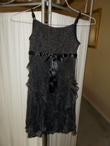 ***REDUCED**Little Girl's Black Formal Dress***SZ 10 in Kingwood, Texas