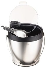 ***Stainless Steel & Black OXO Ice Bucket***NEW in Kingwood, Texas
