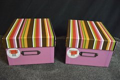 Two Storage boxes in Lockport, Illinois