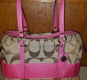 Authentic Coach pink purse in Travis AFB, California