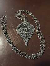 Large leaf necklace in Fort Campbell, Kentucky