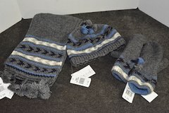 Scarf, Hat and Mittens set in Westmont, Illinois