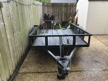 UTILITY TRAILER 5' X 8' with RAMP in Kingwood, Texas
