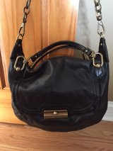 Black Leather Coach Purse in Glendale Heights, Illinois