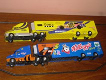 "14""long kellogg's racing trucks in Lockport, Illinois"
