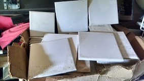 Tiles (Box of) various sizes, mainly white in Warner Robins, Georgia