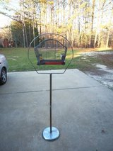 MCM vintage floor bird cage in Byron, Georgia