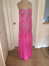 Beautiful Prom dress only worn once, altered to fit size 0-2 in Bolingbrook, Illinois