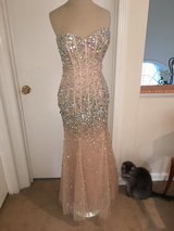 Lovely Prom dress (custom made for Bri Zan) worn once, alt... in Westmont, Illinois