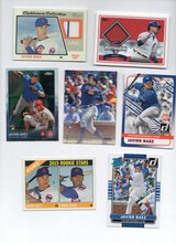 CHICAGO CUBS JAVIER BAEZ ROOKIE & JERSEY CARDS in Chicago, Illinois