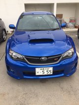 2012 Subaru WRX STI in Okinawa, Japan