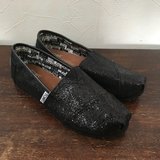TOMS - Blk Glitters - YOUTH 2.5 in Okinawa, Japan