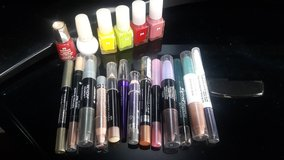 6 nail colors and 13 sticks eye shadow in Okinawa, Japan