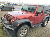2013 JEEP WRANGLER 2 DOOR 4X4  LOADS OF AFTERMARKET EQUIPMENT in Spangdahlem, Germany