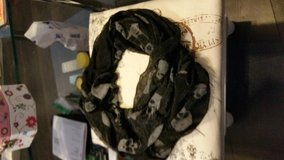 Skull scarf in Lakenheath, UK
